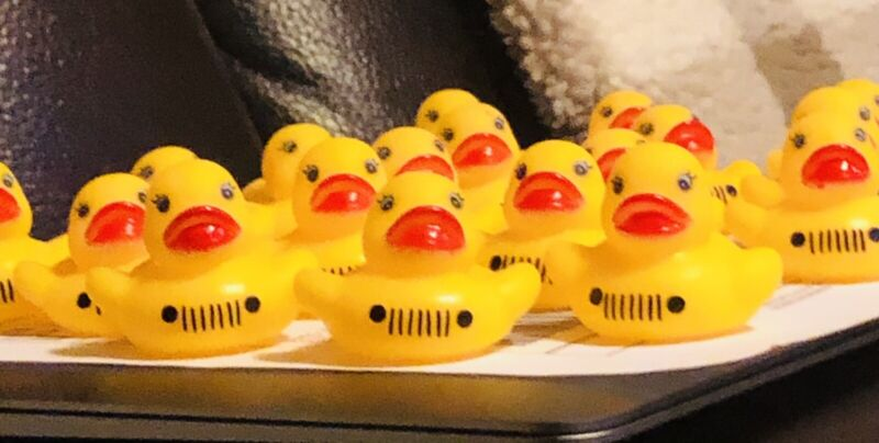 It's A Jeep Thing....let's Start Ducking 😜 10 Ducks With Tag