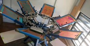 SCREEN PRINTING TRAINING COURSES