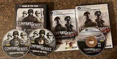 Company of Heroes Opposing Fronts and Best Game Of The Year PC (2 Games (Best Company Of Heroes Game)