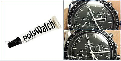 PolyWatch Scratch Remover Watch Face Clear Polish Plastic Acrylic Crystal (Clear Plastic Scratch Repair)