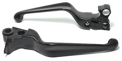 Handhebel Set Kupplung Brems Hebel für Harley Sportster Dyna Softail Touring -17
