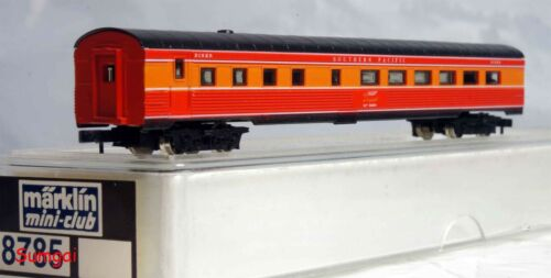 Z Scale Märklin 8785 Southern Pacific Daylight Passenger Diner Car #10200 NIB