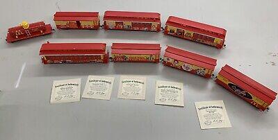Hawthorne Village McDonald's 50th Anniversary Express Collection Train Cars Set