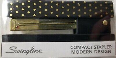 Cute Polka Dot Design Series Stapler By Acco Swingline Compact 20 Sheet Capacity