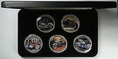 The Heritage of Harley-Davidson U.S. Silver Eagle Dollar Coin Collection