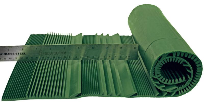 Sluice Fox Rubberized Riffle Mat |Trim to Fit Sluice Box | Gold Panning Supplies