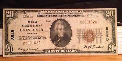 Iron River Michigan , First National Bank
