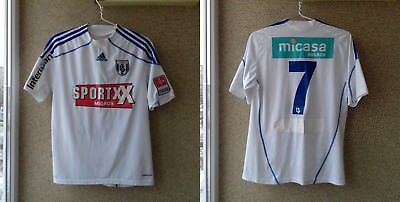 Lausanne Sport 2010/2011 Player Issue Away football shirt M Jersey Adidas Swiss image