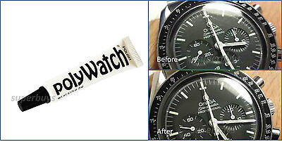 PolyWatch Scratch Remover Polish Watch Face Plastic Acrylic Glass Crystal (Clear Plastic Scratch Repair)