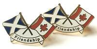 2 X Scozia & Canada Amicizia Nuovo Modello Smalto Spilla Distintivi -  - ebay.it