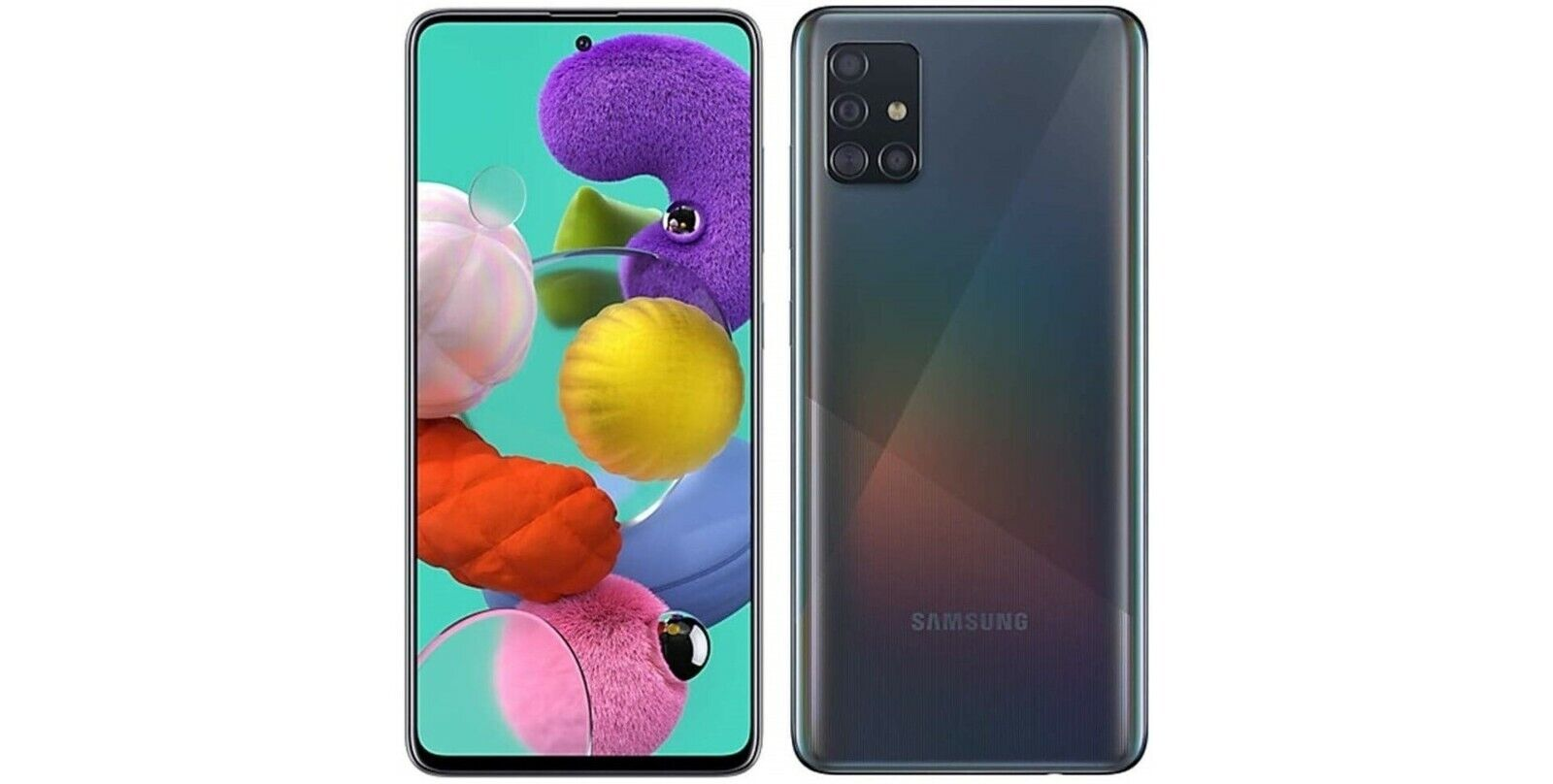 Android Phone - Samsung Galaxy A51 SM-A515U - 128GB Black (Sprint T-mobile AT&T Unlocked)  A