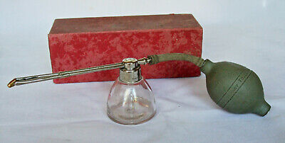 Antique Medical: DEVILBISS ATOMIZER No. 16; Original Box.