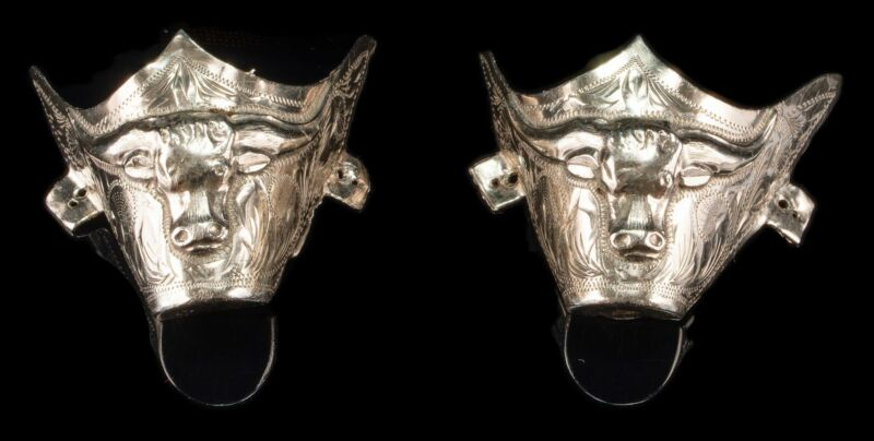 VINTAGE Plata de Jalisco BOOT Tips Sterling Silver V.H.L.C Guad Mex