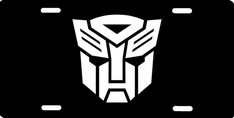 Transformers Autobot logo Officially Licensed Aluminum License Plate Sign NEW