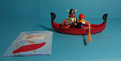 Playmobil Wikinger/Vikings~Wikingerbeiboot/Viking Boat(3156/5714)& Anleitung