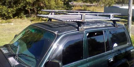 Roof rack cage