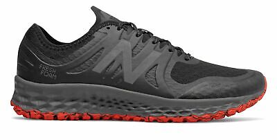 New Balance Men's Kaymin Trail Shoes Black with Red