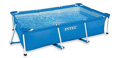 Intex 86 x 23 Rectangular Frame Above Ground Outdoor Baby Splash Swimming Pool