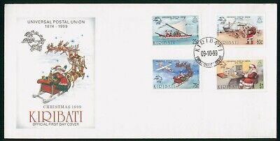 MayfairStamps Kiribati 1999 Universal Postal Union Anniversary Santa Claus Chris