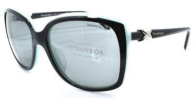 Tiffany & Co TF 4076-A 8055/3F Women's Sunglasses Black & Blue / Gray (Tiffany Mens Sunglasses)