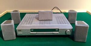 RCA Stereo Receiver / DVD player + 5 Speakers