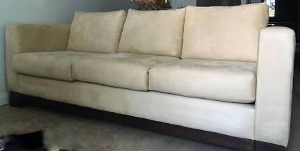 Freedom Sofa 3 Seater in microsuede Ashfield Ashfield Area Preview