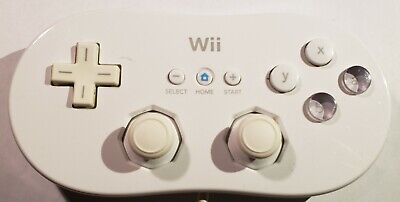 OEM Offical Nintendo Wii Classic (RVLARW1) Gamepad Controller CLEANED AND TESTED