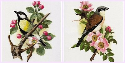 - New Crewel Embroidery kit from PANNA Birds