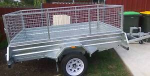 8x5 single and double axle Gal H duty trailer Not cheap & flimsy Dapto Wollongong Area Preview