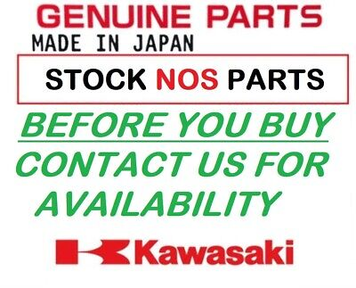 KAWASAKI GENUINE Z1000 07-09 BELLY PAN BUGSPOILER WHITE 011BST0014 NOS