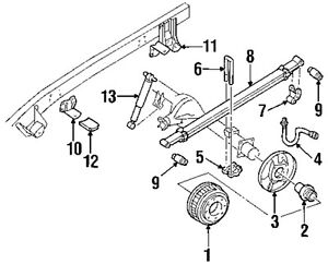 GM-OEM-15529596-Rear-Suspension-U-bolt