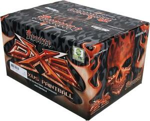 New DRAXUS® BRONZE SERIES DUAL COLOR QUALITY PAINTBALLS - Make you game more exciting!!