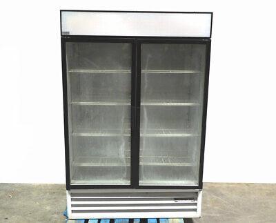 Beverage-air Mt49 Glass Door Refrigerated Merchandiser Display Reach-in R134a