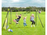 Children's/kiddies outdoor swing/play set.6 functions.
