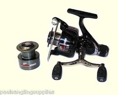 Coarse Feeder Spin Spinning Fishing Reel Grandeslam Advanced 4000 & Spare Spool