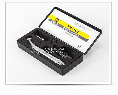Tosi High Speed Fiber Optic Mini Head Push Handpiece With 6 Holes Quick Coupler