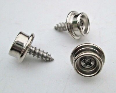 """Marine Stainless Steel SNAP FASTENERS #8 X 3/8""""For Boat Covers Canopy Seat Cover"""