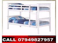 ZAX Wooden Bunk Base / Bedding