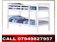 ZAX Wooden Bunk Base / Bedding