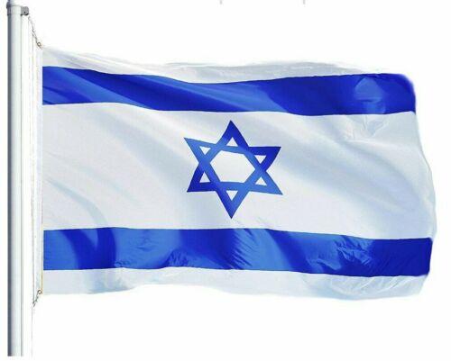 ISRAEL (ISRAELI) FLAG 75D PRINTED POLYESTER 3X5 FT, **G128**