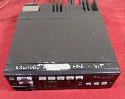 Motorola Astro Spectra Vhf 146-174 Mhz 50 Watt 128 Ch Mobile Radio D04kkf9pw5an