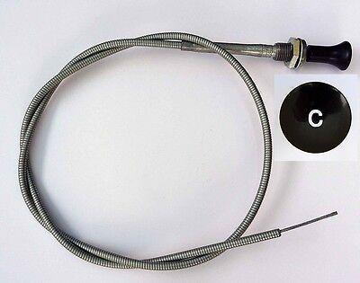MGA Choke Cable, MG part AHH5333