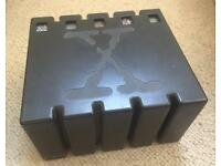 X-Files Black Forensic Evidence Box Set - VHS - Very Rare - specially designed to house 5 VHS tapes