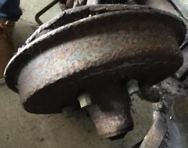Austin Heavy 12 front axle