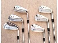 Premium Golf Set of Irons: Srixon 765 Model, Nippon Stiff Shafts