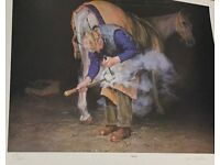 Limited Edition Print Smithy by Judi Pyrale