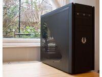 GAMING PC: INTEL Core i5-760/GTX 760/HDD 500GB/8GB RAM/ in BitFenix Shinobi Black Window Case.