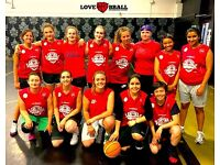 WOMEN'S BASKETBALL TEAM IN LONDON JOIN NOW!