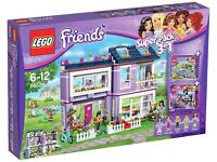 Lego Friends 66526 Super Pack 41095 Emma's House + Extras Brand New Factory Sealed