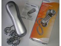 Binatone Trend 3 LCD - Slimline Corded Telephone, LCD Display with original box